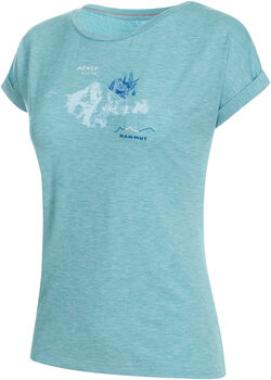 MAMMUT Mountain T-Shirt Damen blau