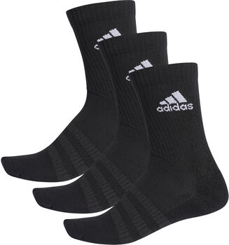 adidas Essentials Cushioned Crew Socken 3er-Pack schwarz