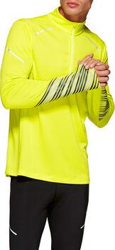 Asics Lite-Show 2 Langarmshirt mit Halfzip Herren gelb