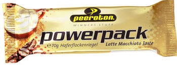 Peeroton Power Pack Riegel Latte Macciato 70g braun