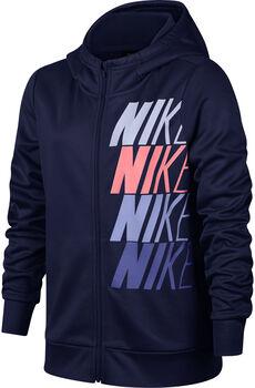 Nike G Nk Therma Hoodie Kapuzensweater Mädchen blau