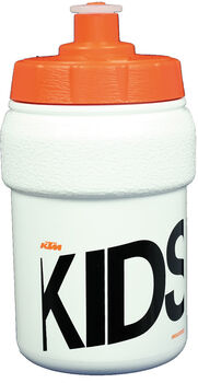 KTM Trinkflasche mit Halter weiß