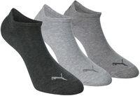 Invisible 3er Pack Socken