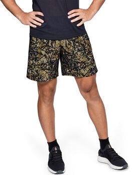 Under Armour Launch SW Shorts mit Aufdruck (18 cm) Herren grün