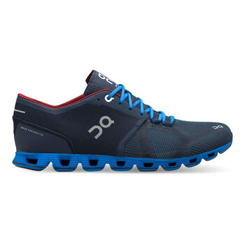 On Cloud X Laufschuhe Herren blau