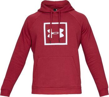 Under Armour Rival Fleece Logo Hoody Herren rot