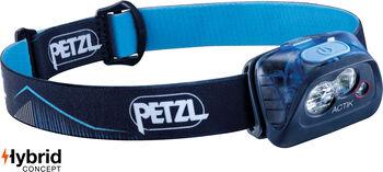 PETZL Actik Stirnlampe, blau