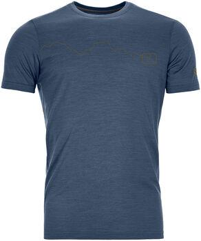 ORTOVOX 120 Tec Mountain T-Shirt Herren blau