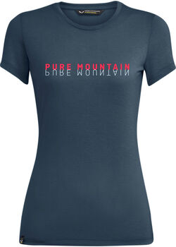 Salewa Pure Mountain T-Shirt Damen blau