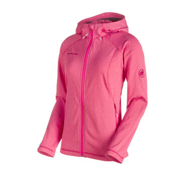 MAMMUT Runbold ML Hooded Damen pink