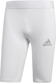 adidas Alphaskin Sport ST M kurze Tights Herren weiß