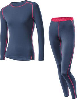LÖFFLER Transtex® Warm Unterwäschenset Damen blau