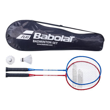Babolat 2er Set Badmintonschläger weiß