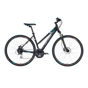 """GENESIS Speed Cross SX 3.9, Crossbike 28"""" Damen schwarz"""
