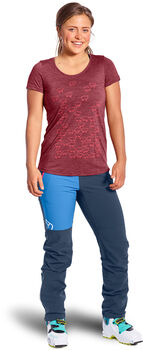ORTOVOX 150 Cool Let It Sheep T-Shirt Damen rot
