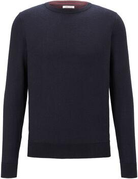TOM TAILOR Modern Basic Pullover Herren blau