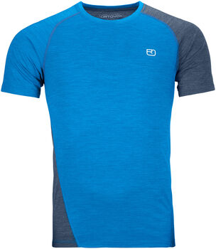ORTOVOX 120 Cool Tec Fast T-Shirt Herren blau