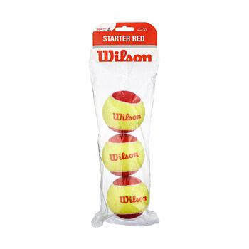 Wilson Starter Game 3-er Tennisbälle, Stufe 3 weiß