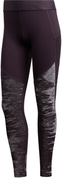 adidas Alphaskin Cold Weather lange Tights Damen lila