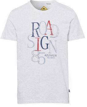 Roadsign 85 T-Shirt Herren weiß