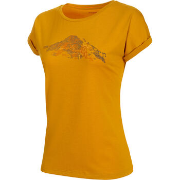 MAMMUT Mountain T-Shirt Damen gelb