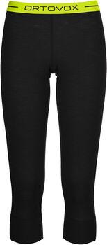 ORTOVOX 105 Merino Ultra 3/4 Unterhose Damen schwarz