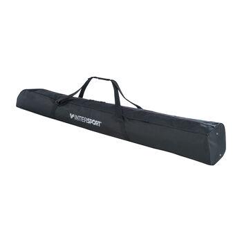 INTERSPORT Carving-Skisack für 2 Paar schwarz