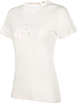 MAMMUT Seile T-Shirt Damen weiß