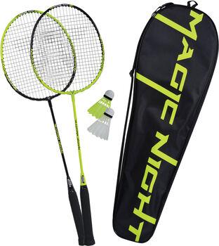 Talbot Torro Magic Night Led Badminton-Set weiß