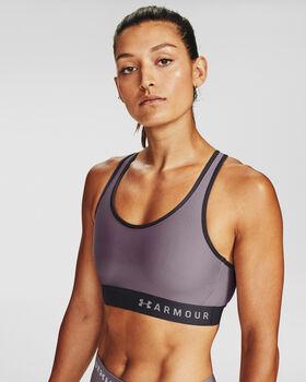 Under Armour Armour® Mid Sport-BH Damen lila