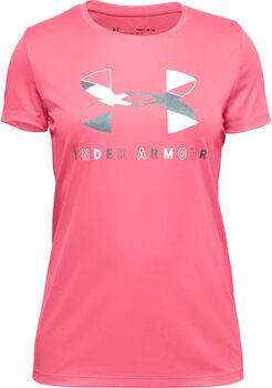 Under Armour Tech™ Big Logo T-Shirt Mädchen pink