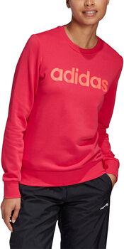 adidas Essentials Linear Sweater Damen pink