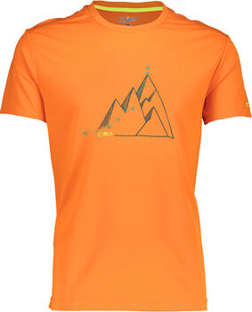 CMP Monza T-Shirt Herren orange