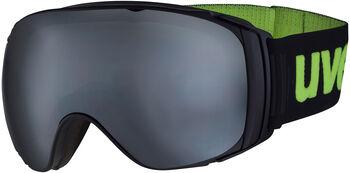 Uvex Sureness FM Skibrille schwarz