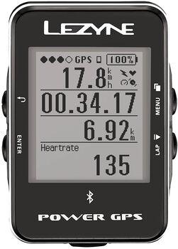 Lezyne Power GPS Radcomputer schwarz
