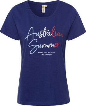 Roadsign Australian Summer T-Shirt Damen blau