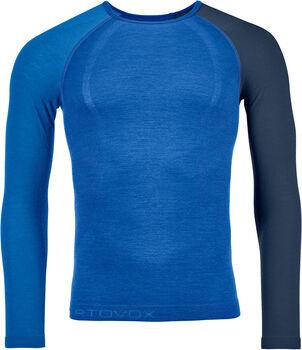 ORTOVOX 120 Comp Light Langarmshirt Herren blau