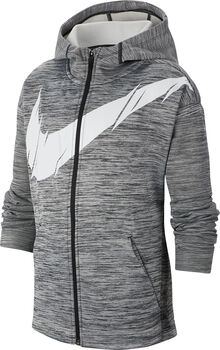 Nike Therma Kapuzenjacke Jungen schwarz