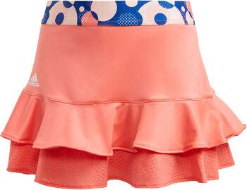 adidas Frill Tennisrock Mädchen pink