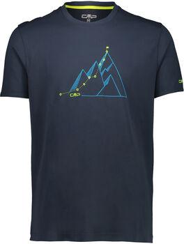 CMP Monza T-Shirt Herren schwarz