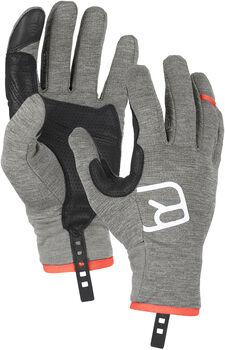 ORTOVOX Fleece Light Glove Tourenhandschuhe grau