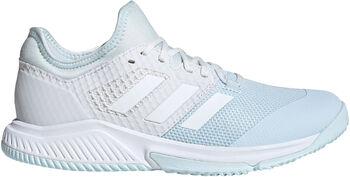 adidas Court Team Bounce Hallenschuhe Damen blau