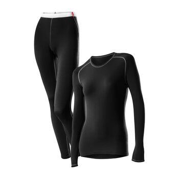 LÖFFLER Transtex® Warm Unterwäschenset Damen schwarz