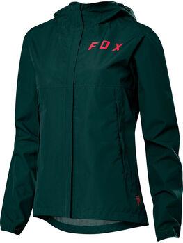 Fox Racing Ranger 2.5L Water Radregenjacke mit Kapuze Damen grün
