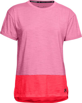 Under Armour Charged Cotton T-Shirt Damen pink
