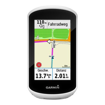 Garmin Edge Explore GPS Bike-Navigationssystem weiß