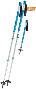Komperdell Titanal Explorer Pro Blue Tourenskistöcke blau