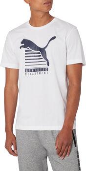 Puma Graphic T-Shirt Herren weiß