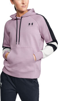 Under Armour Rival FL LC Hoodie Jungen pink