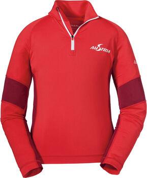 SCHÖFFEL Glatthorn K RT. Sweatshirt mit 1/2 Zip rot